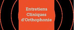 Entretiens Cliniques d'Orthophonie